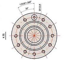 CNC6132机床主轴